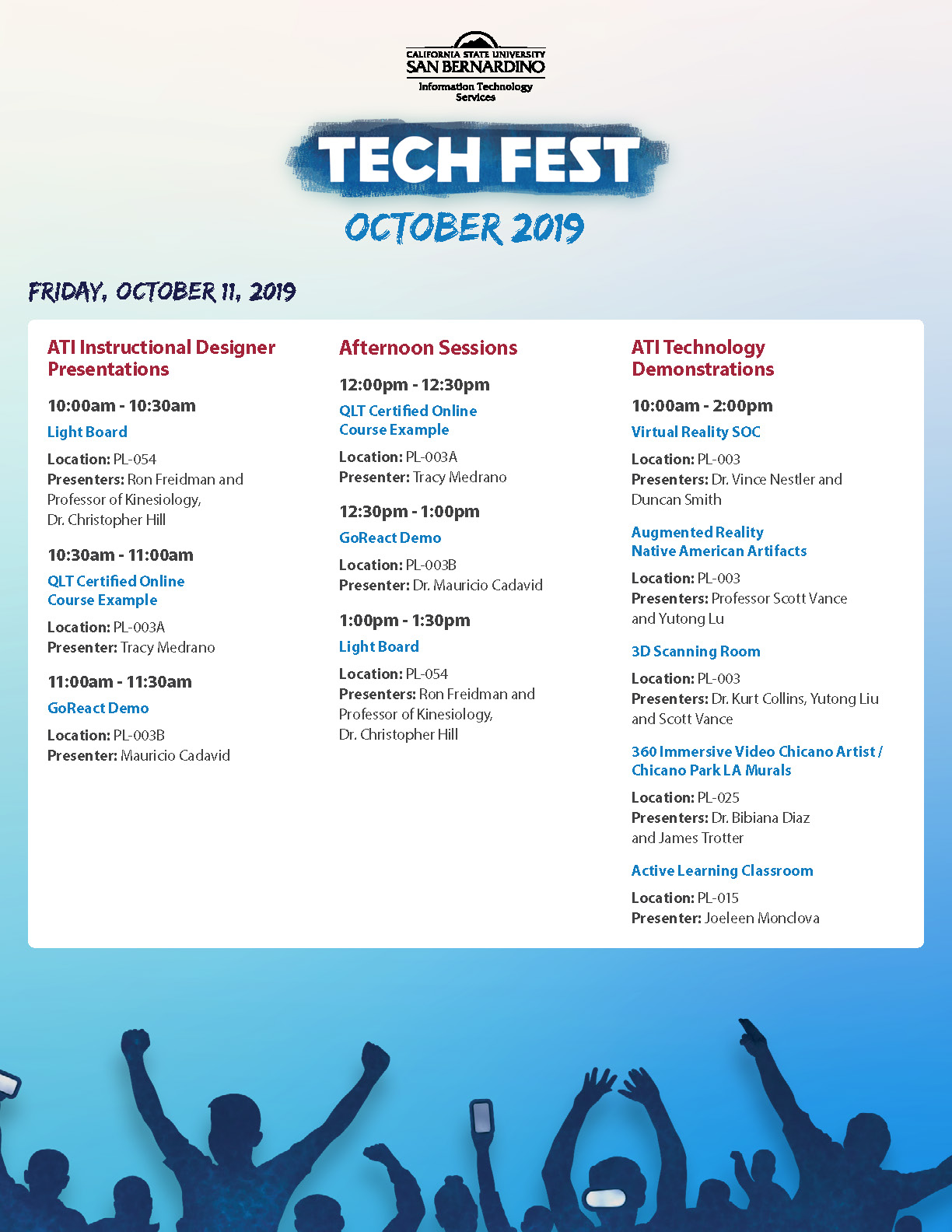 ITS Tech Fest Flier, page 2