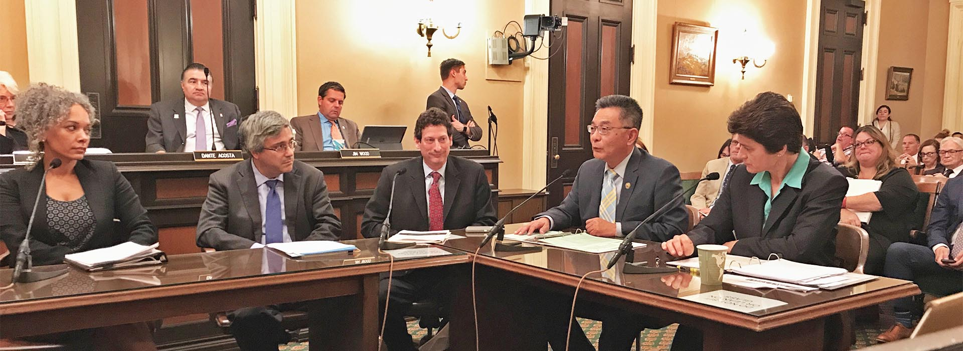 CSUSB hate crime expert Brian Levin testifies before state Joint Legislative Audit Committee