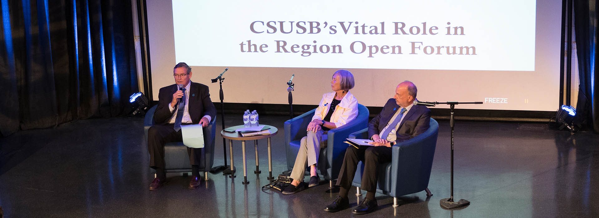 CSU Chancellor White discusses Cal State San Bernardino's vital role in the region