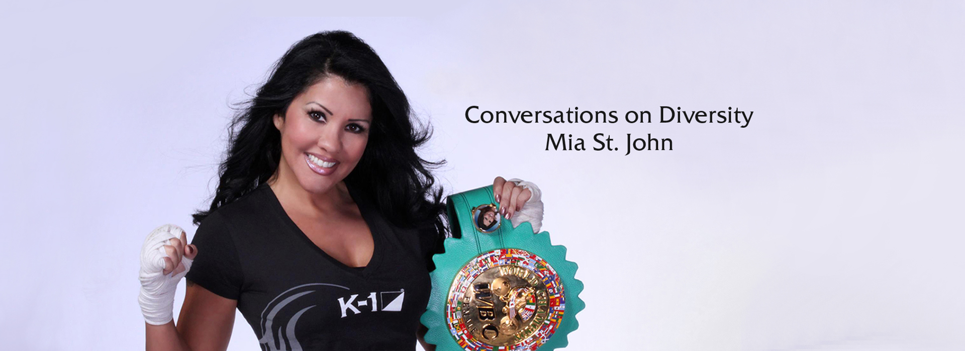 Noon today: World champion boxer Mia St. John to speak at CSUSB's Conversations on Diversity event