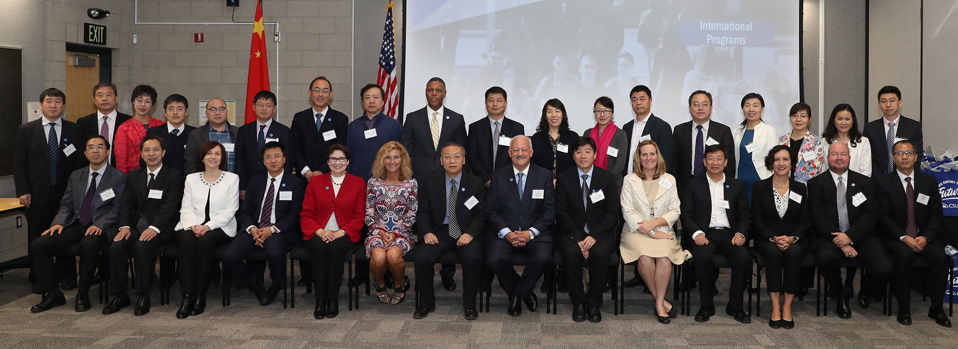 CSUSB welcomes a delegation of Chinese higher education administrators