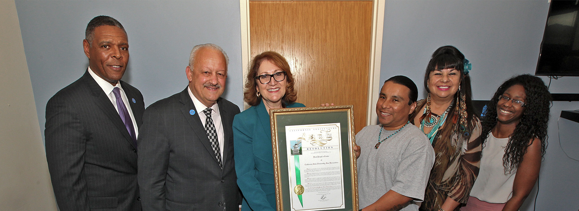 Assembly proclamation recognizes SMSU First Peoples' Center's work