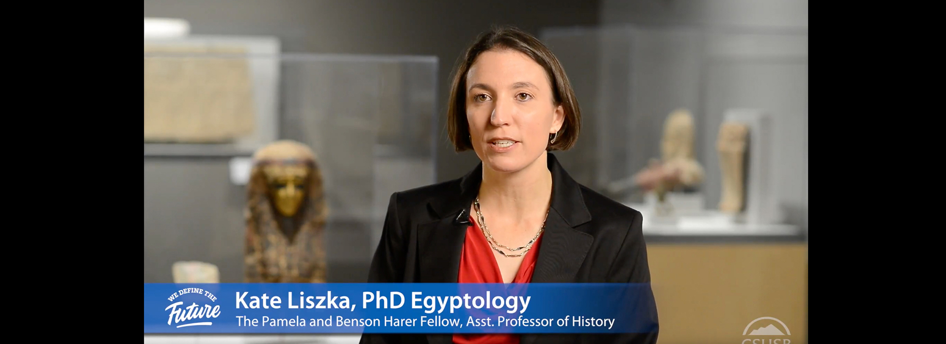 Academic serves as CSUSB's specialist in Egyptology