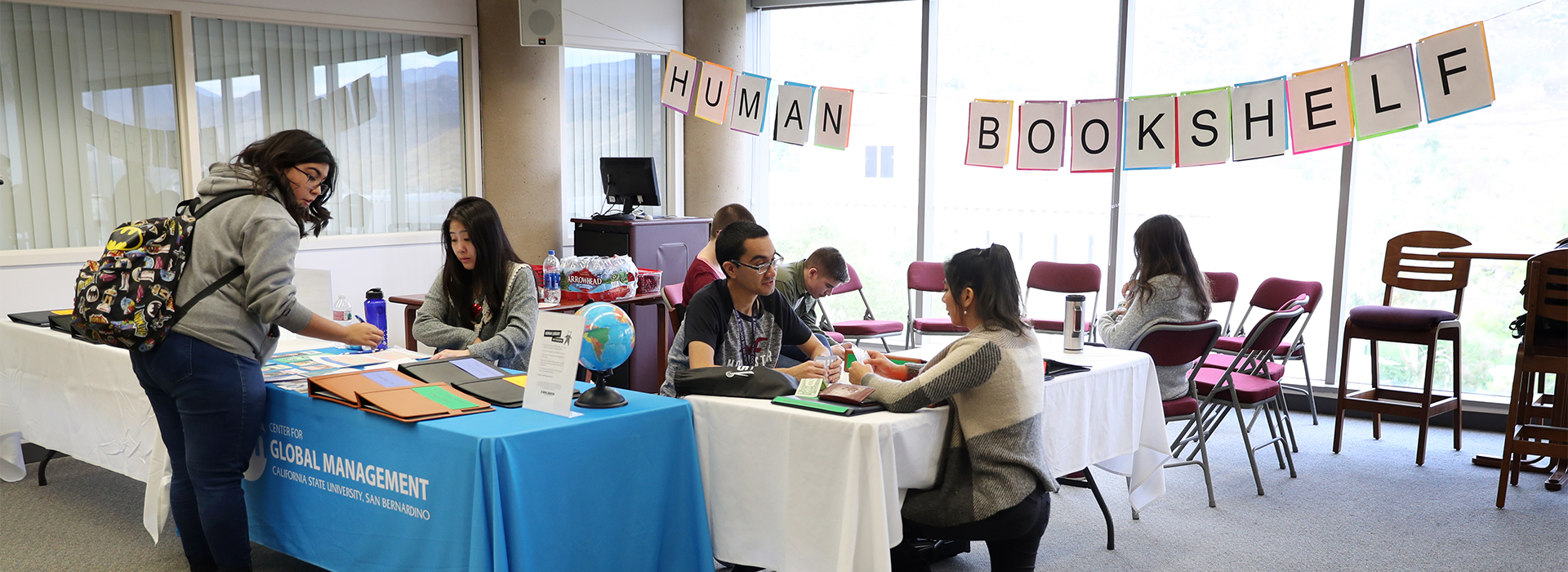 Human Library, designed to challenge prejudice, comes to CSUSB