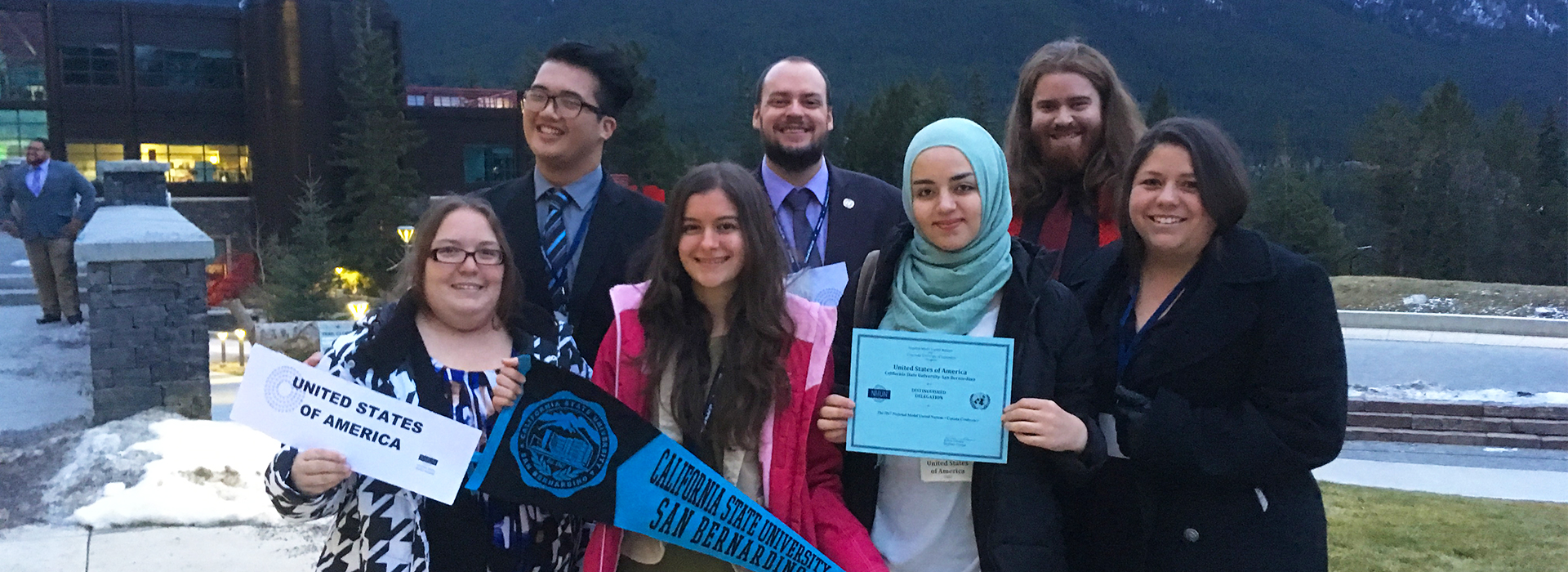 CSUSB Model UN team earns top awards at Canada conference
