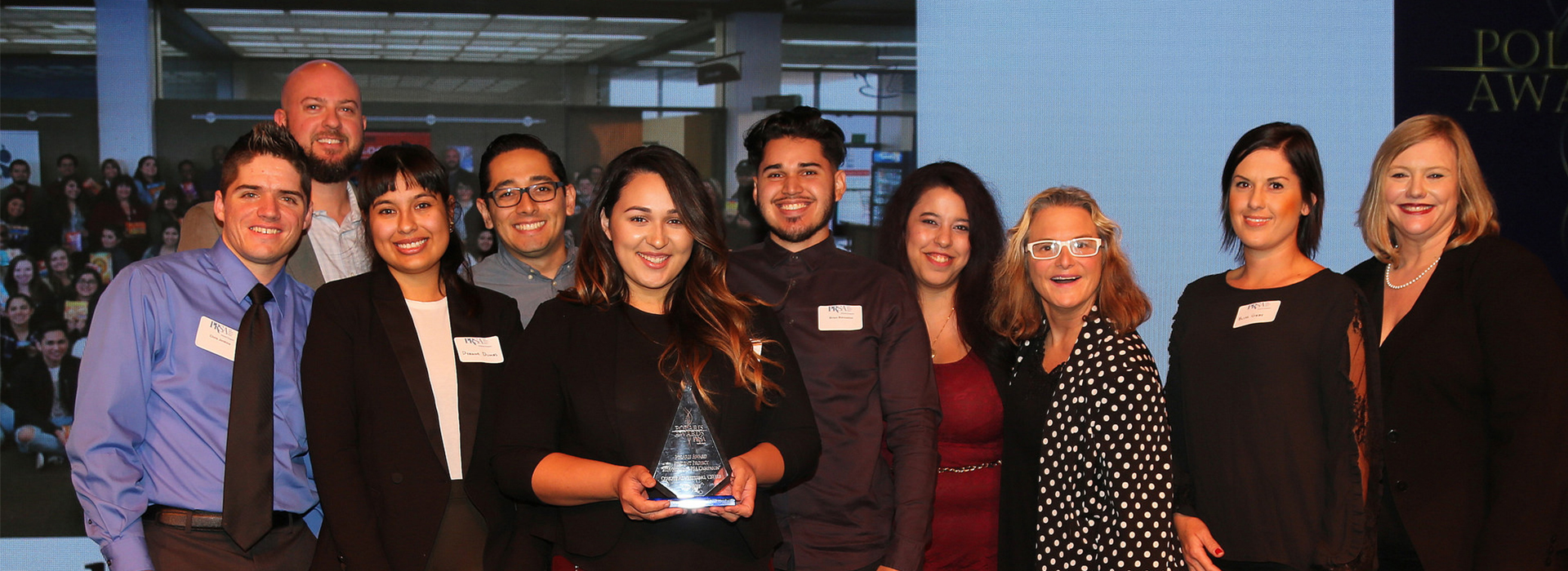 Cal State San Bernardino wins two Polaris Awards by the PRSA Inland Empire Chapter