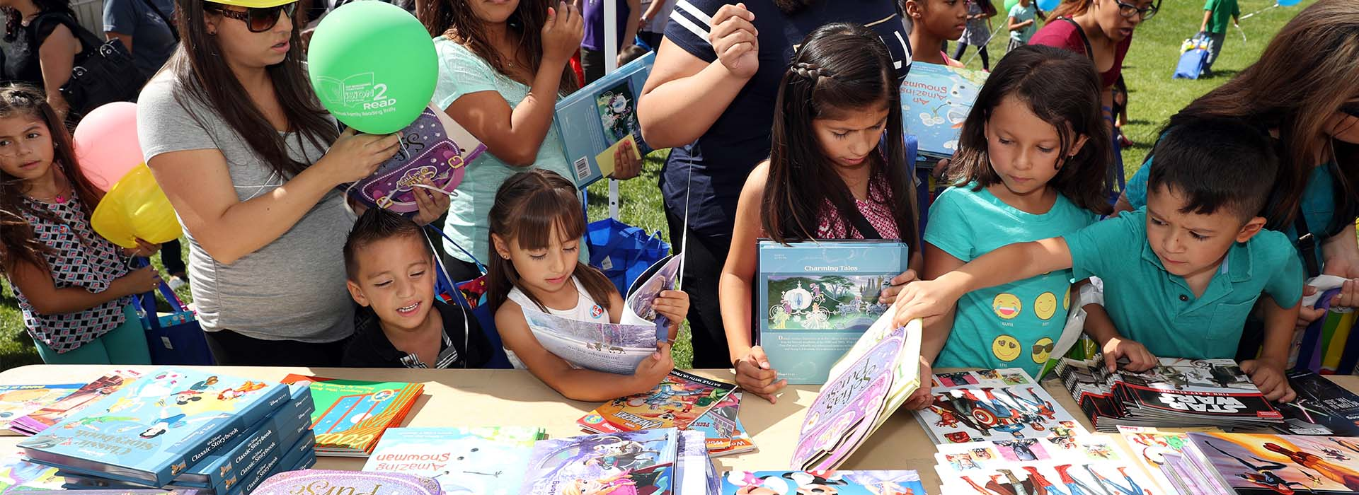 CSUSB co-hosts Vision2Read Family Reading Rally