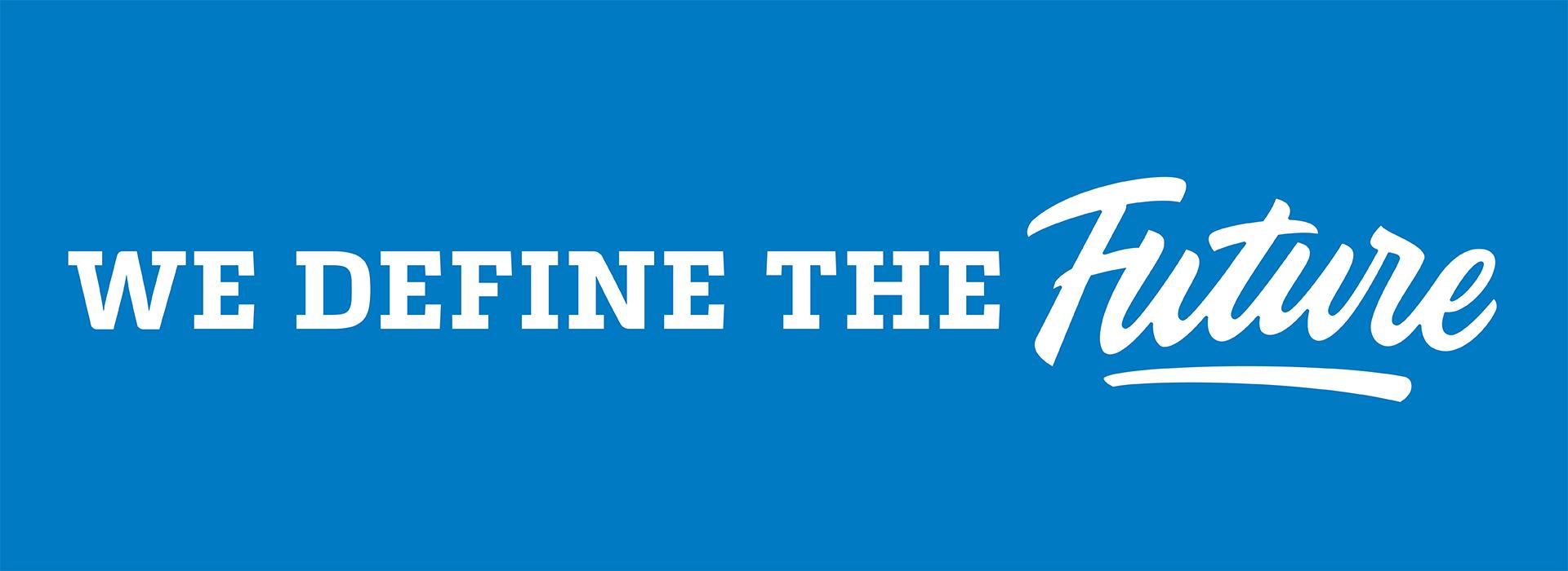 'We Define the Future' branding workshops
