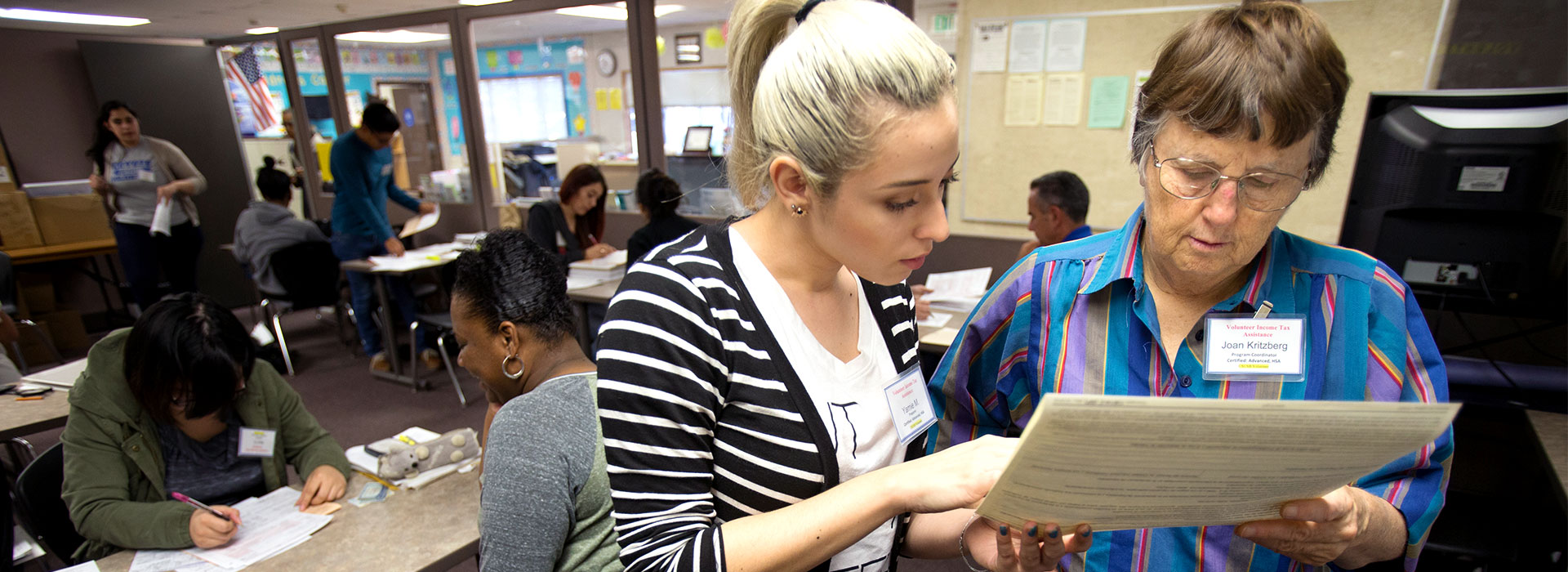 Free tax preparation offered by CSUSB accounting students