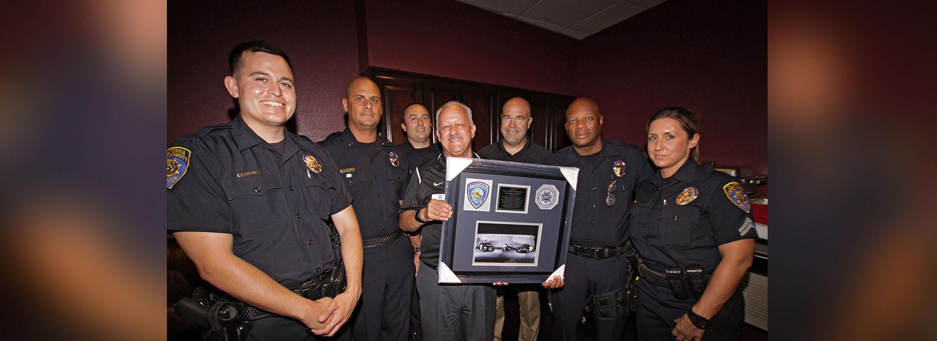 CSUSB honored by San Bernardino Police Foundation