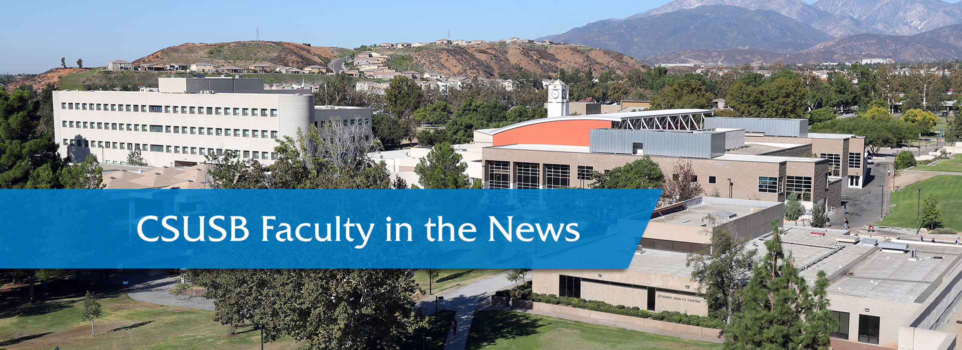 Faculty in the News, May 28