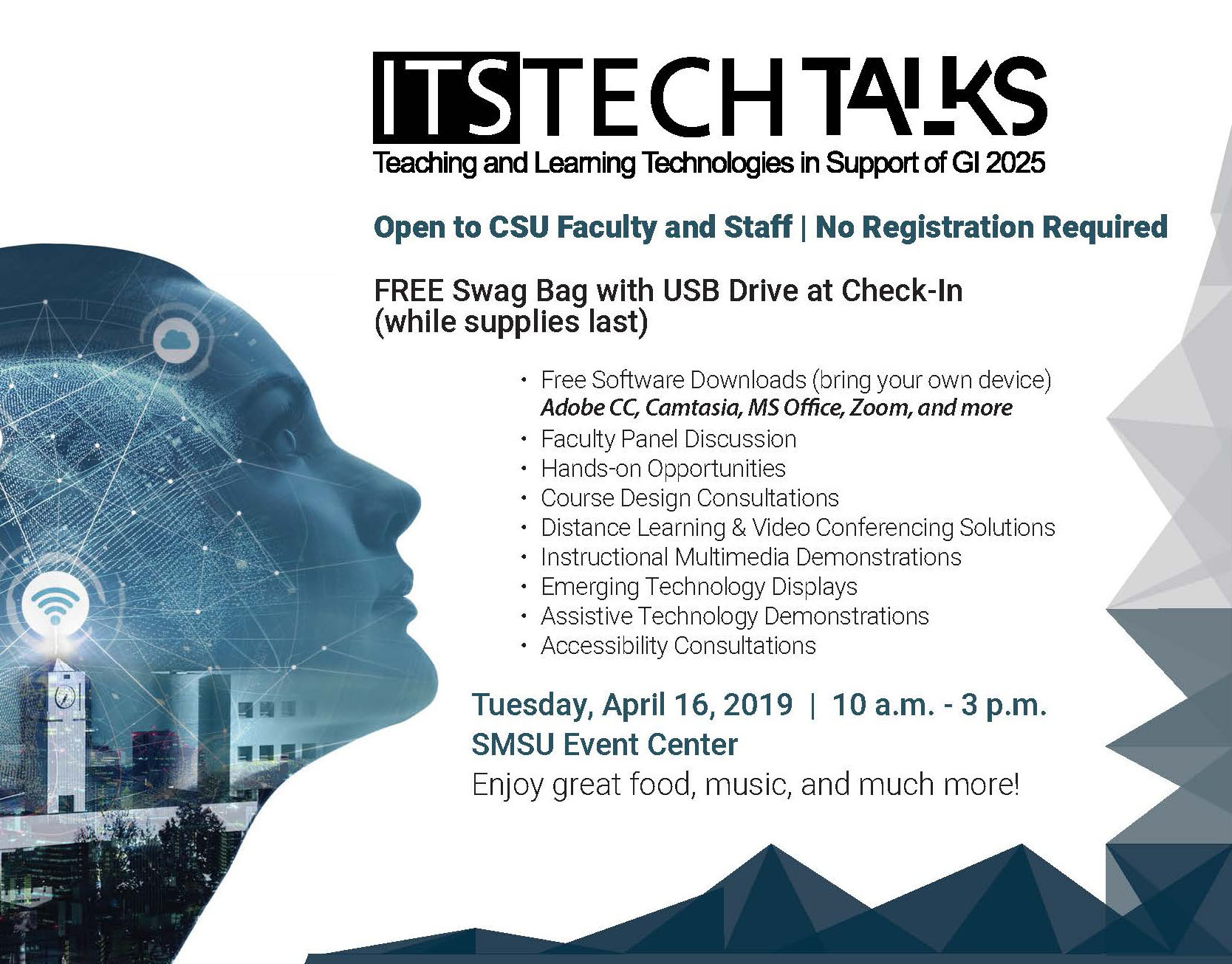 Third annual ITS Tech Talks set for April 16 at CSUSB