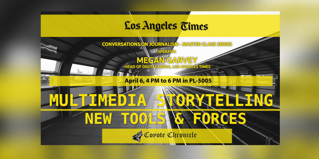 Multimedia storytelling topic of lecture, discussion with LA Times