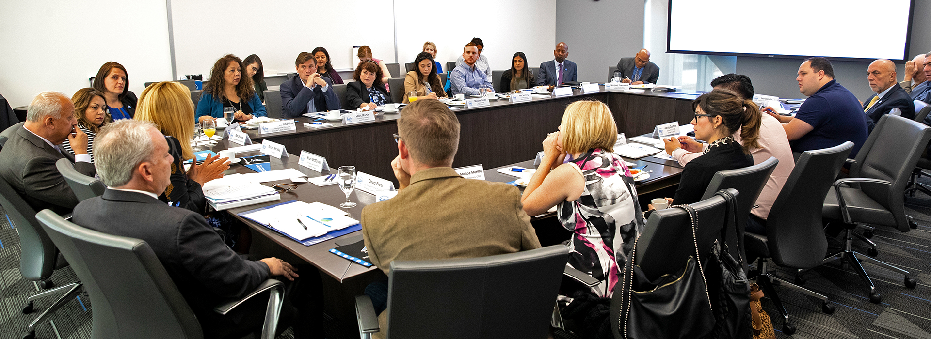 CSU legislative staff visits CSUSB San Bernardino and Palm Desert campuses