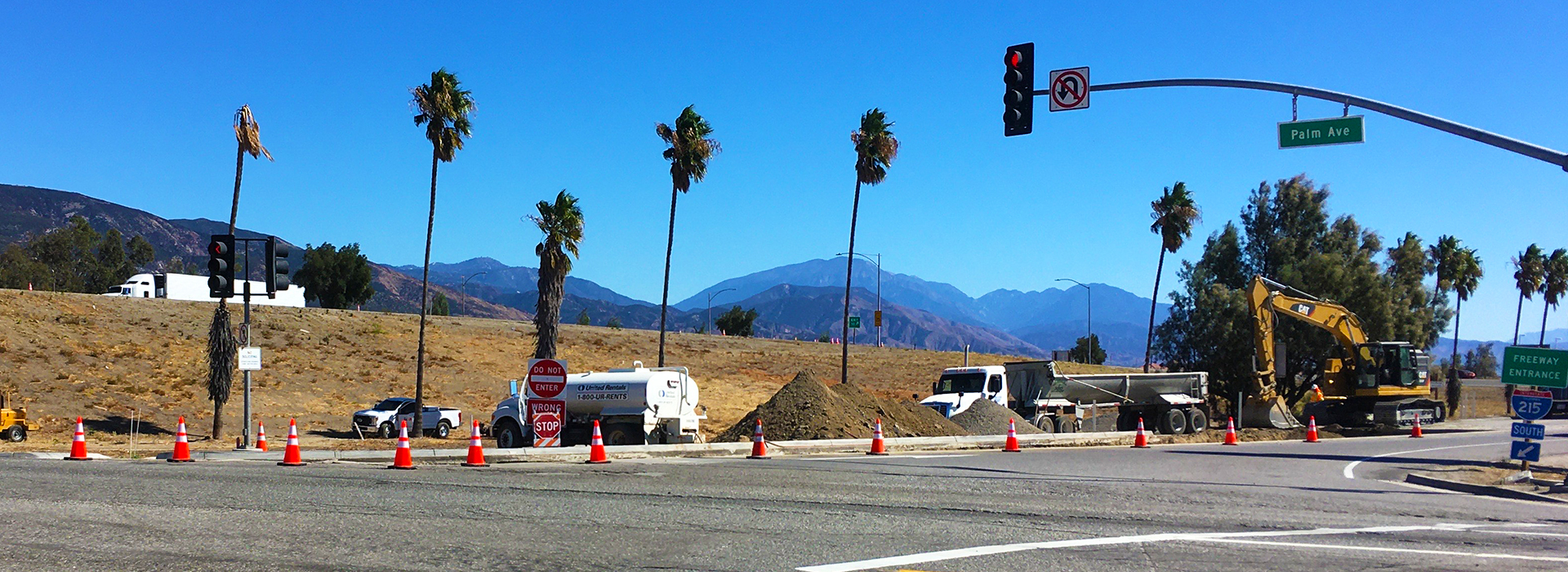 Caltrans closes I-215 southbound Palm Avenue offramp; alternate routes advised