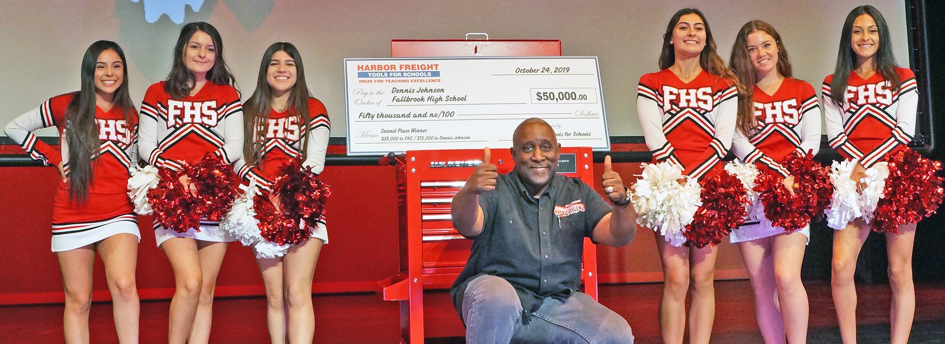 CSUSB graduate Dennis Johnson wins $50K teaching award