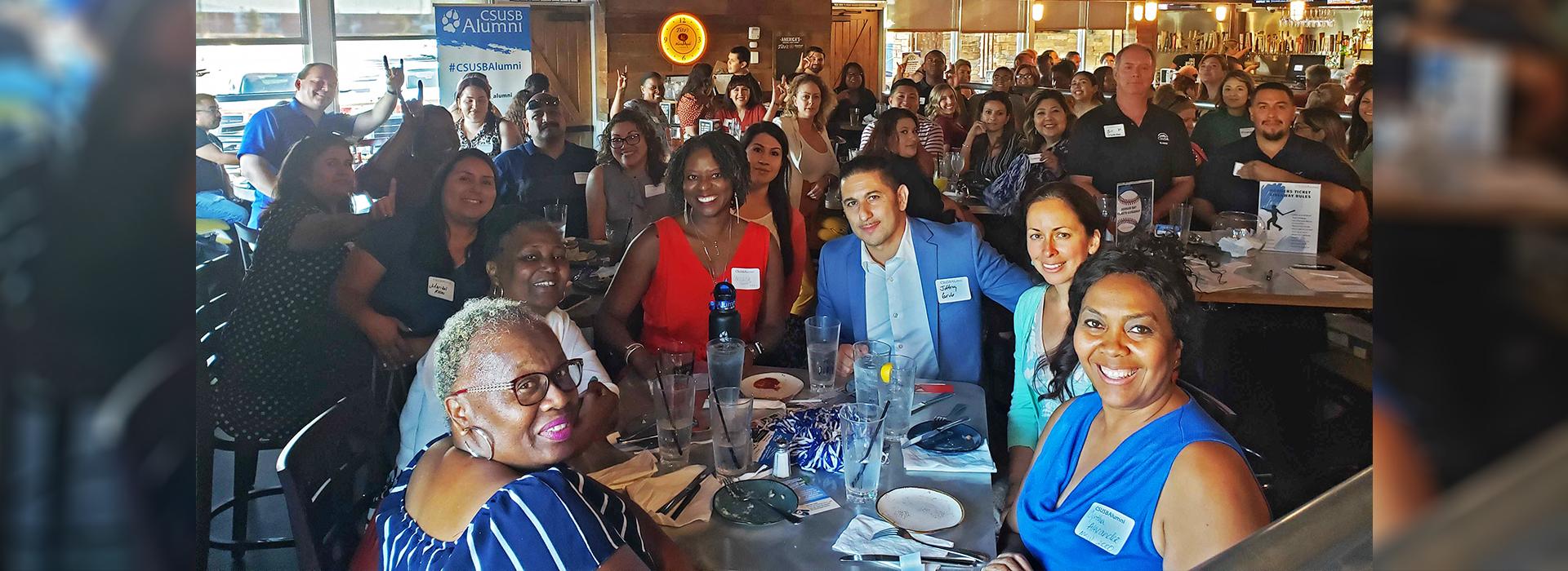 CSUSB Alumni Relations goes on the road