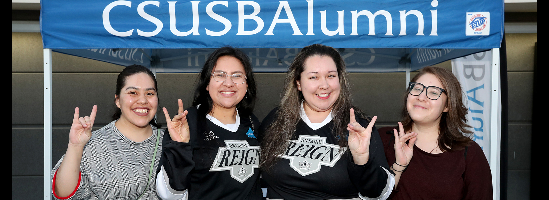 CSUSB cheers Ontario Reign to victory at Alumni Night