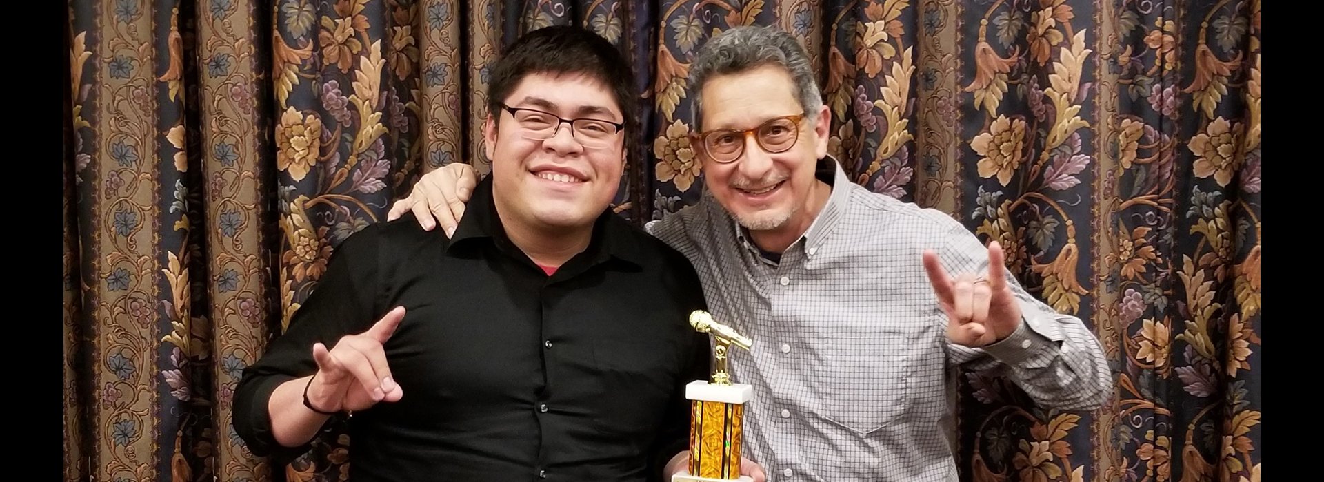 Former Coyote Radio student wins international and regional audio production awards