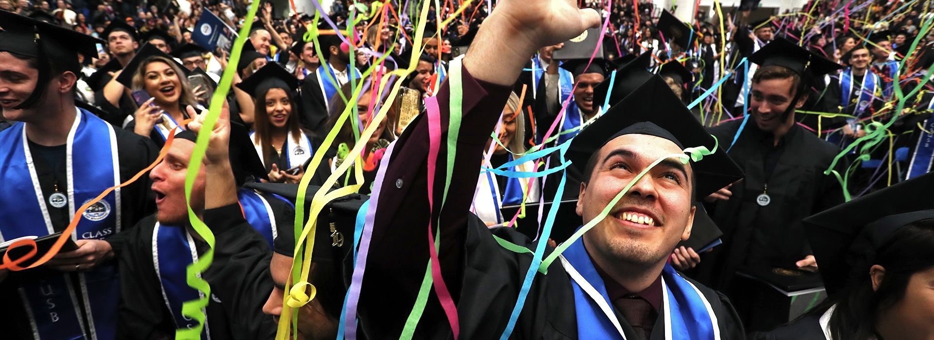 CSUSB celebrates 2019 fall commencement