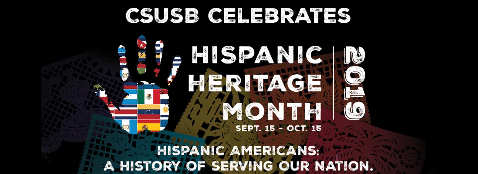 CSUSB's National Hispanic Heritage Month celebration continues through Oct. 15