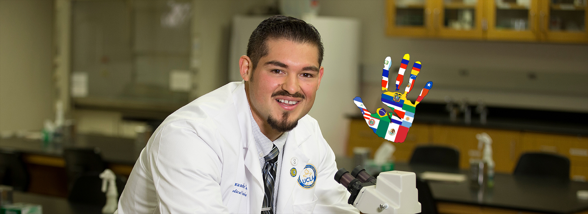 Hispanic Heritage Month look back: Alumnus seeks to become a doctor to help serve poor communities