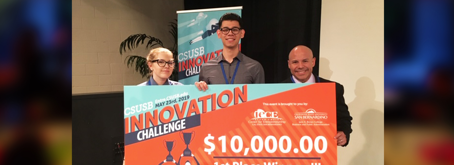 Team Muscle Tonic Relief wins third annual Innovation Challenge at CSUSB