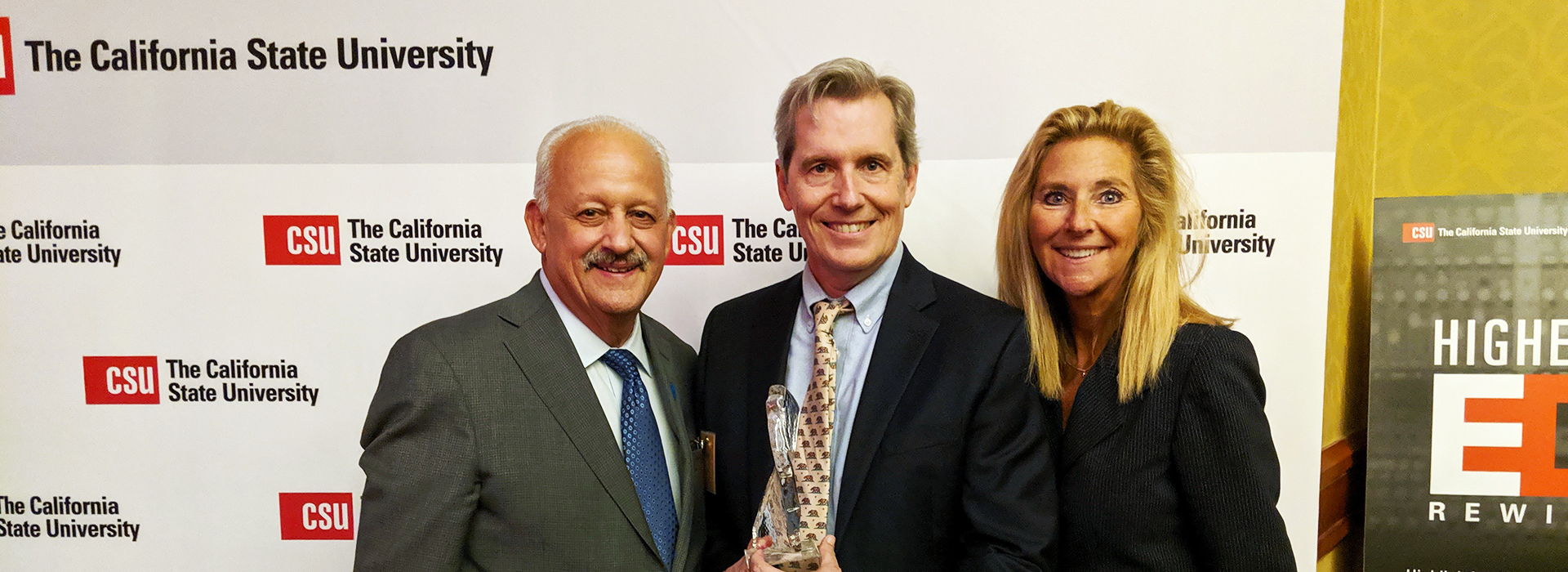 CSUSB professor honored for leadership to advance student success