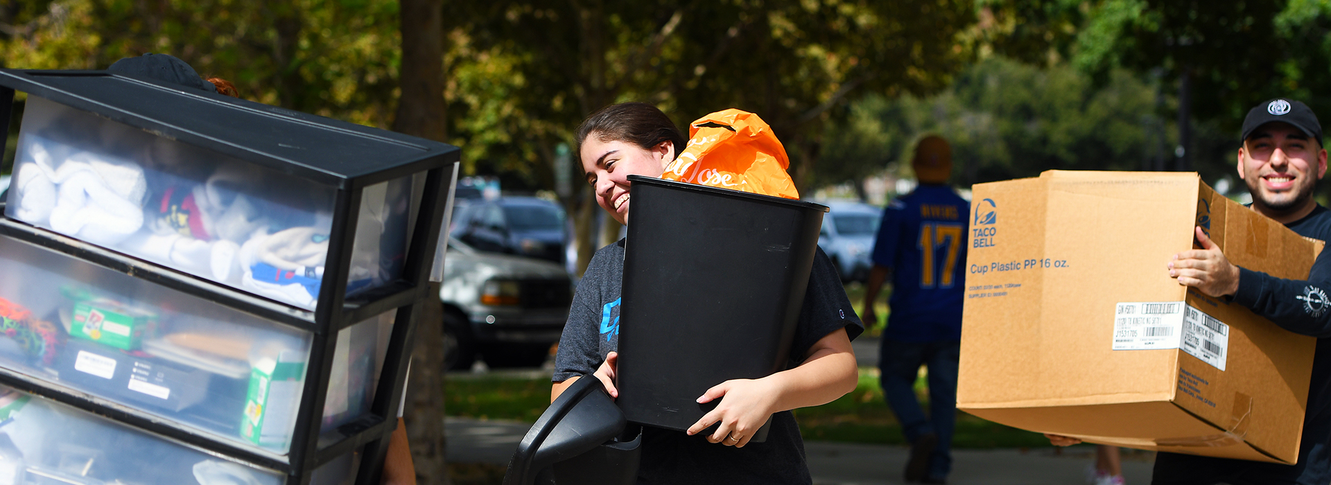 Move-in Day signals start of the new academic year