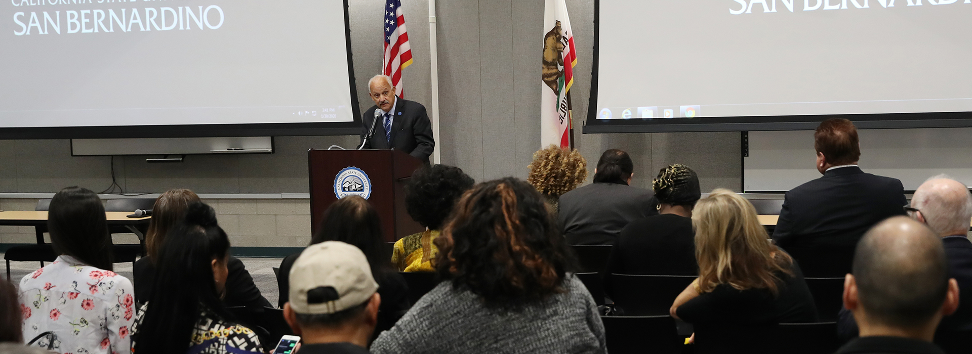 Operation Confidence meets at CSUSB to build working relationships to assist homeless veterans