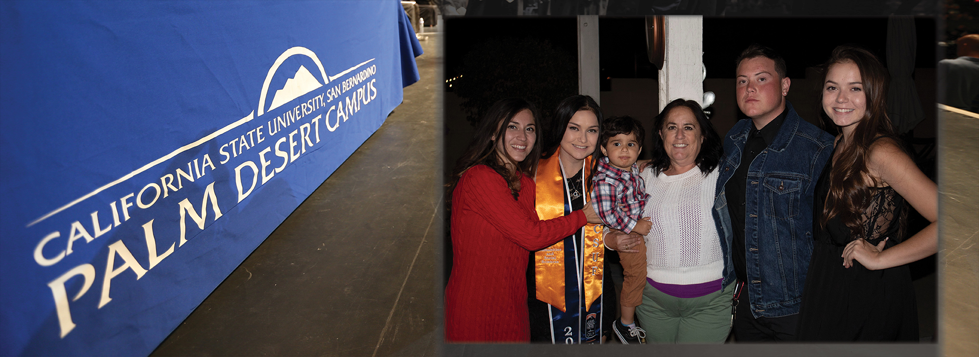 CSUSB Palm Desert Campus graduate completes degree while three of her children attend college
