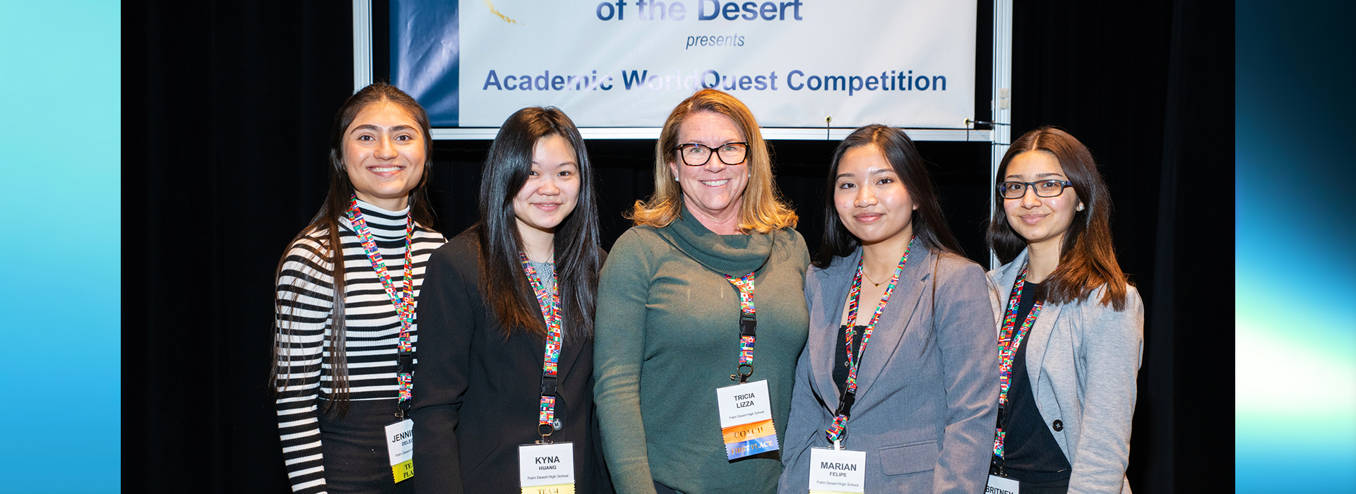 High school students battle for scholarships at annual Academic WorldQuest competition at CSUSB Palm Desert Campus