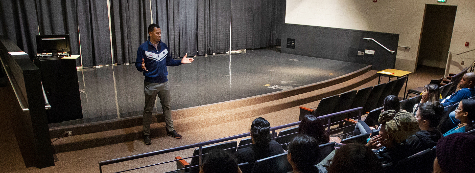 Olympic cyclist discusses sports and fitness at CSUSB