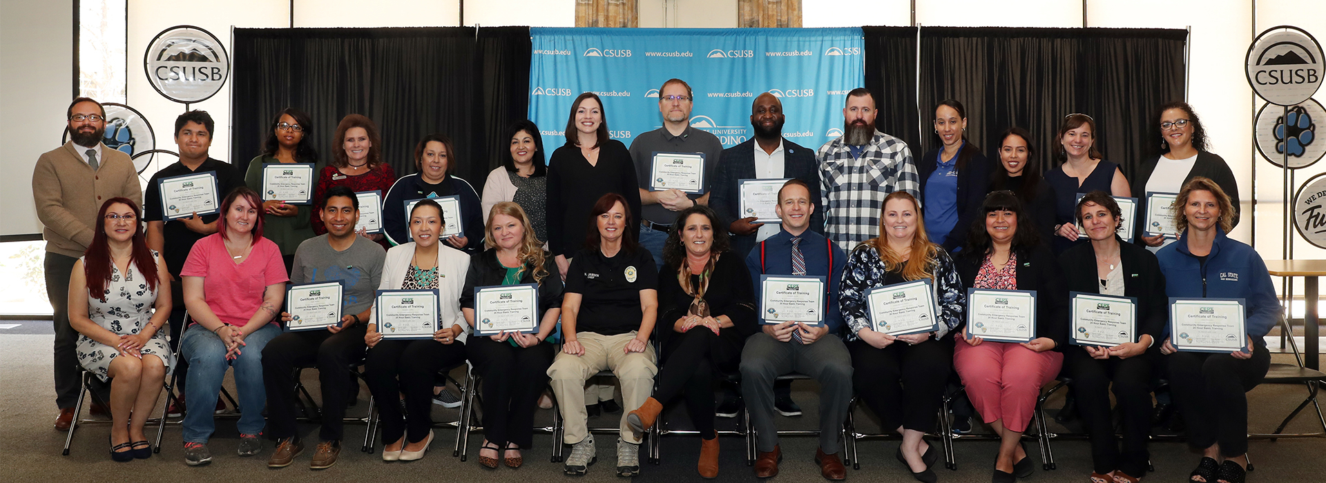 25 graduate from CSUSB Community Emergency Response Team program