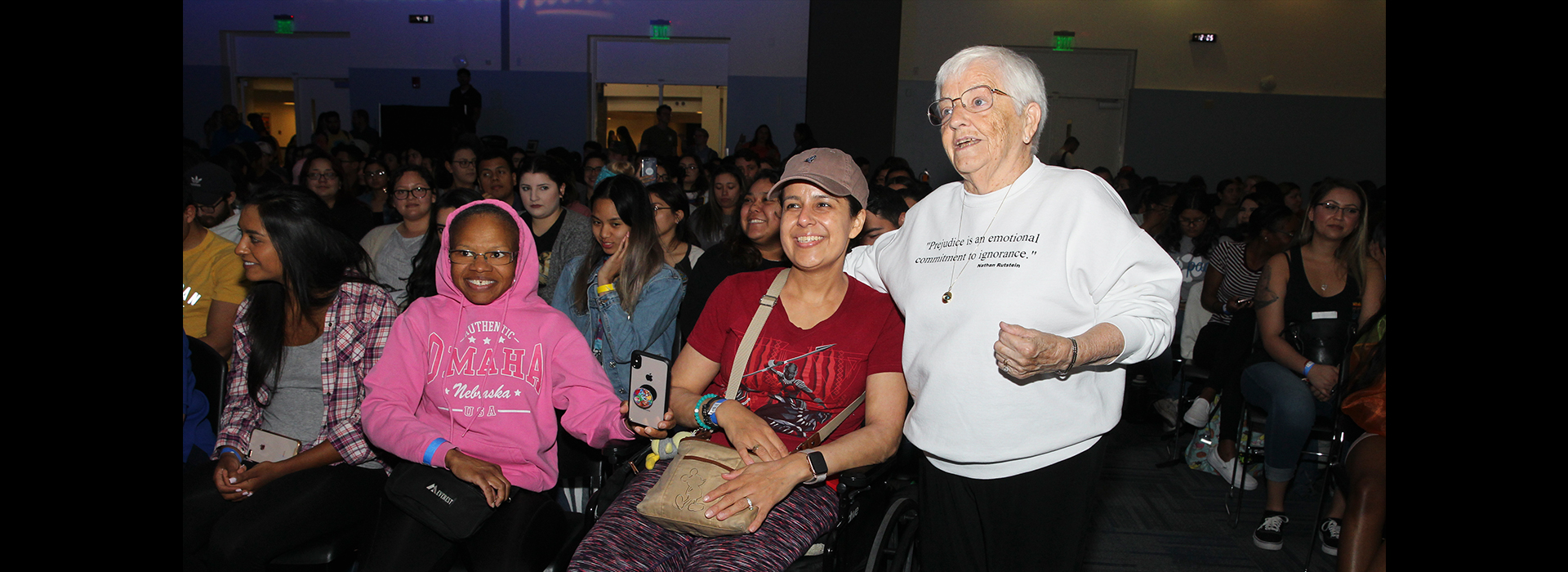 'Jane Elliott on Race and Racism' presented at CSUSB
