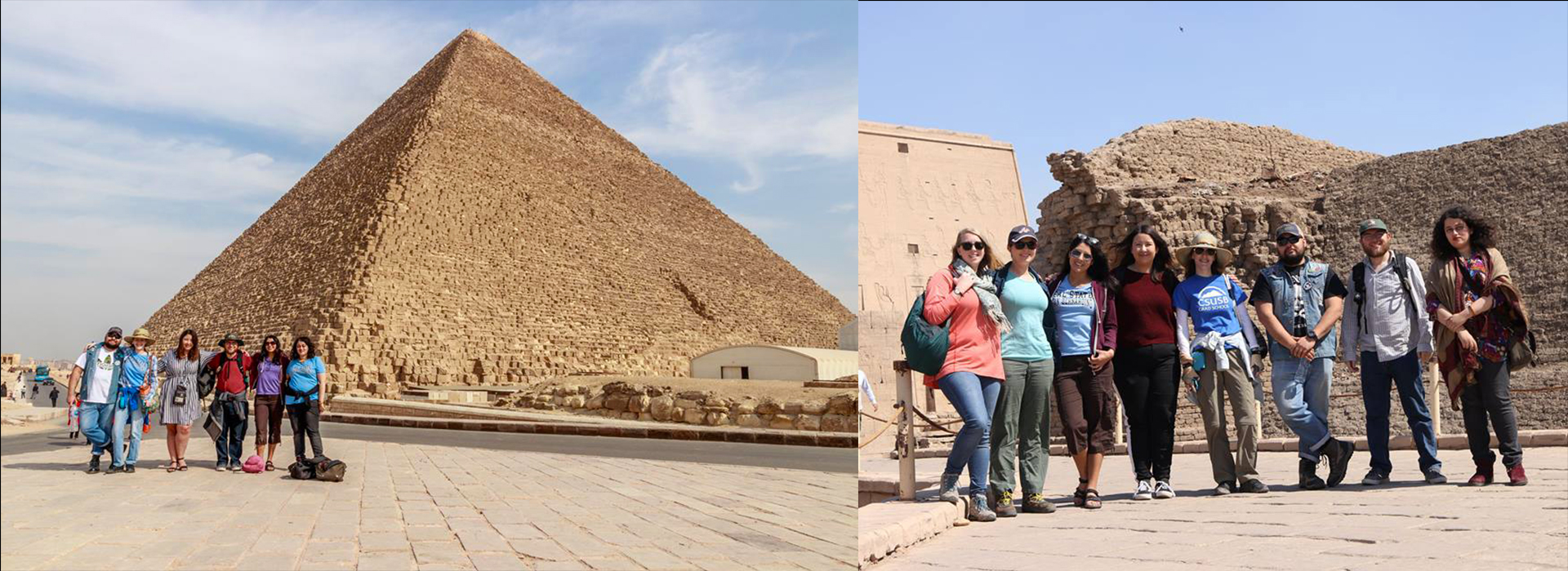 CSUSB students participate in archeological projects in Egypt