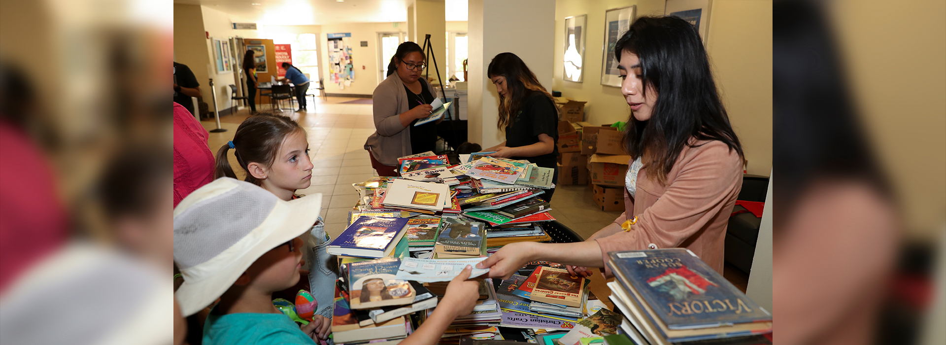 Thousands of books donated at CSUSB Multicultural Book and Family Festival