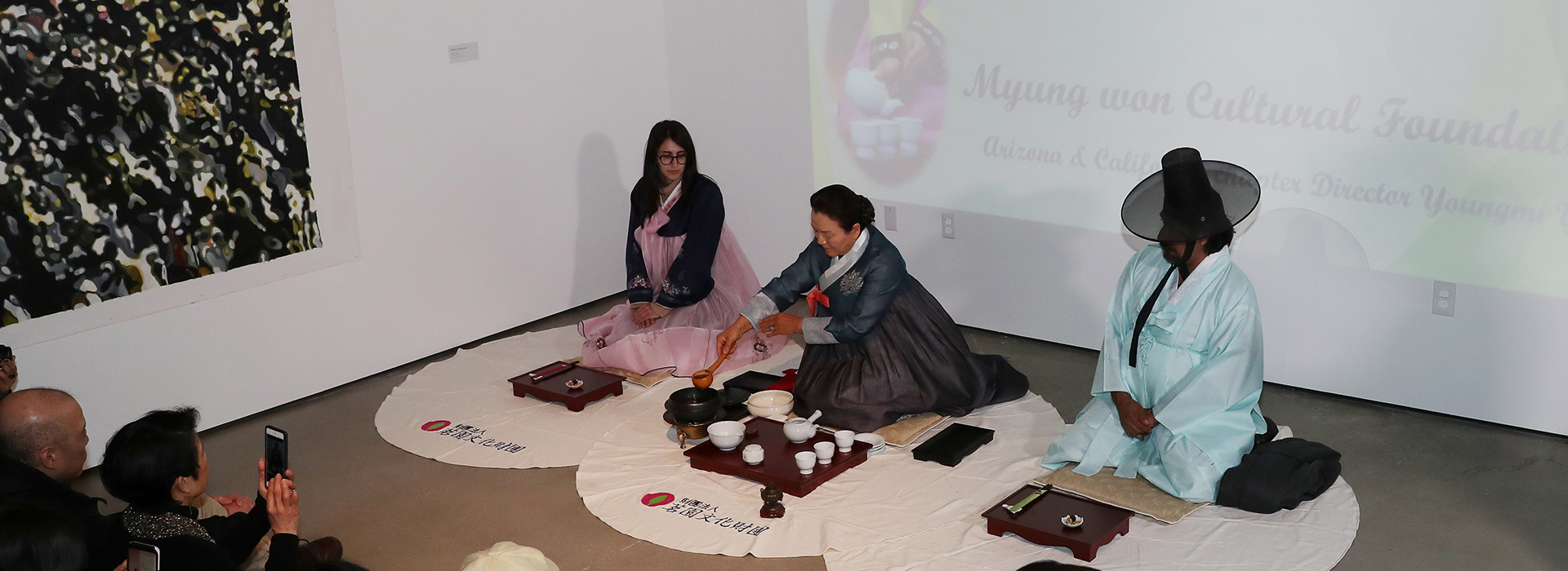 CSUSB's art museum hosts traditional Korean tea ceremony