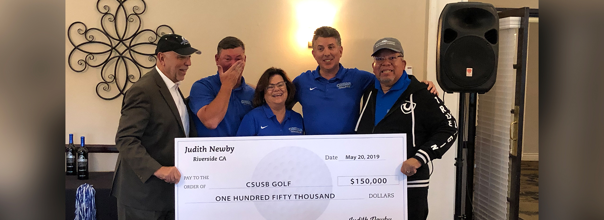 Dave Stockton Coyote Classic raises $250,000 for student-athlete scholarships, including $150,000 endowment for the William H. Colley Golf Scholarship