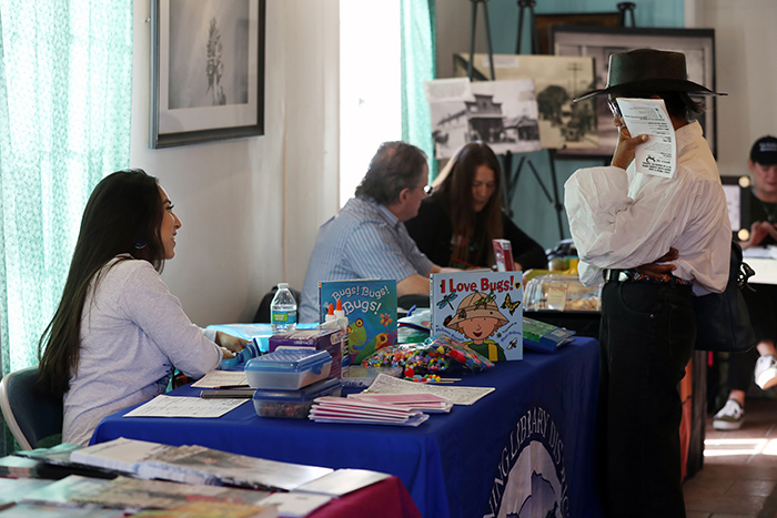 Writers and their book at the Native Voices Poetry Festival