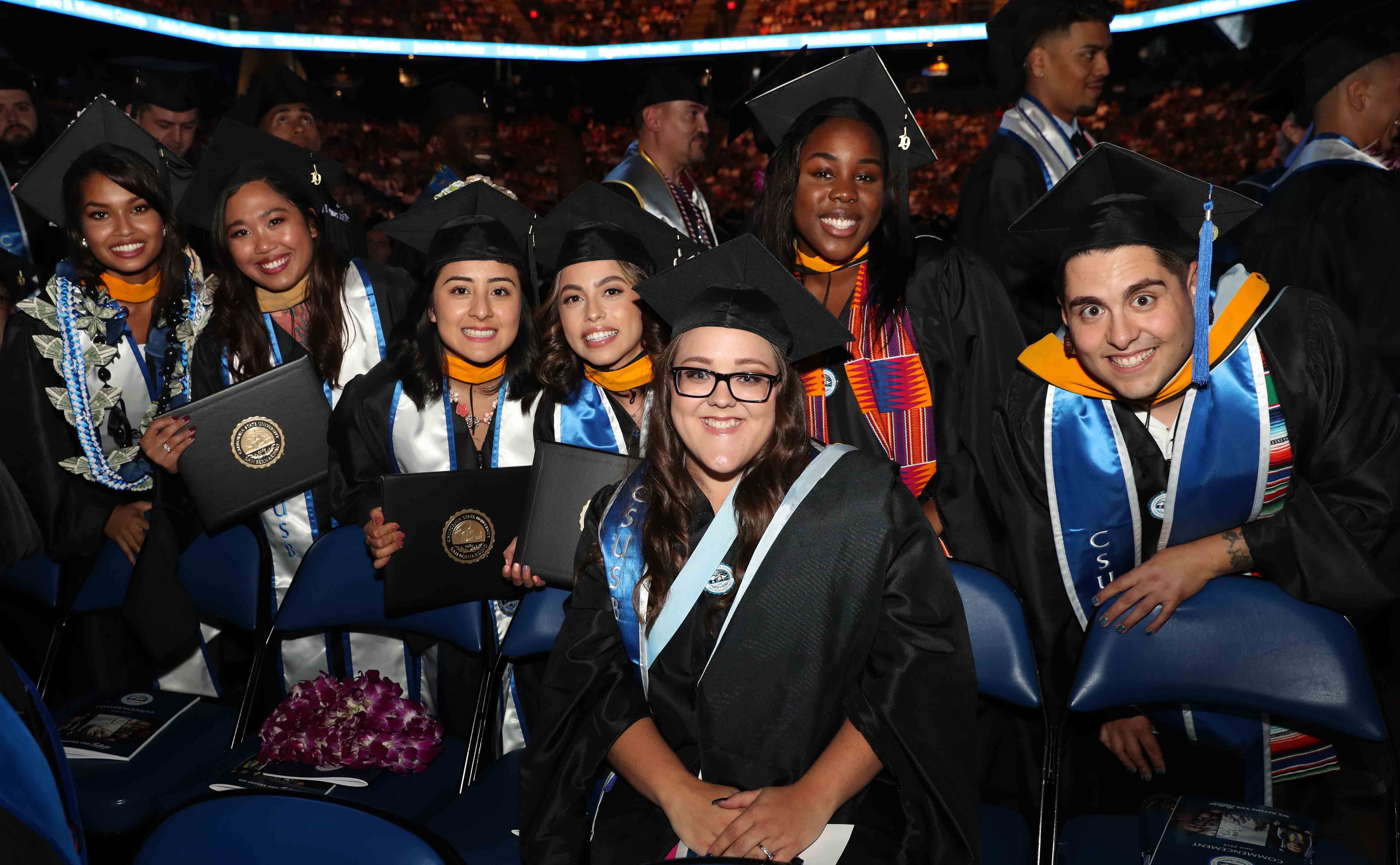 Members of CSUSB's Class of 2019