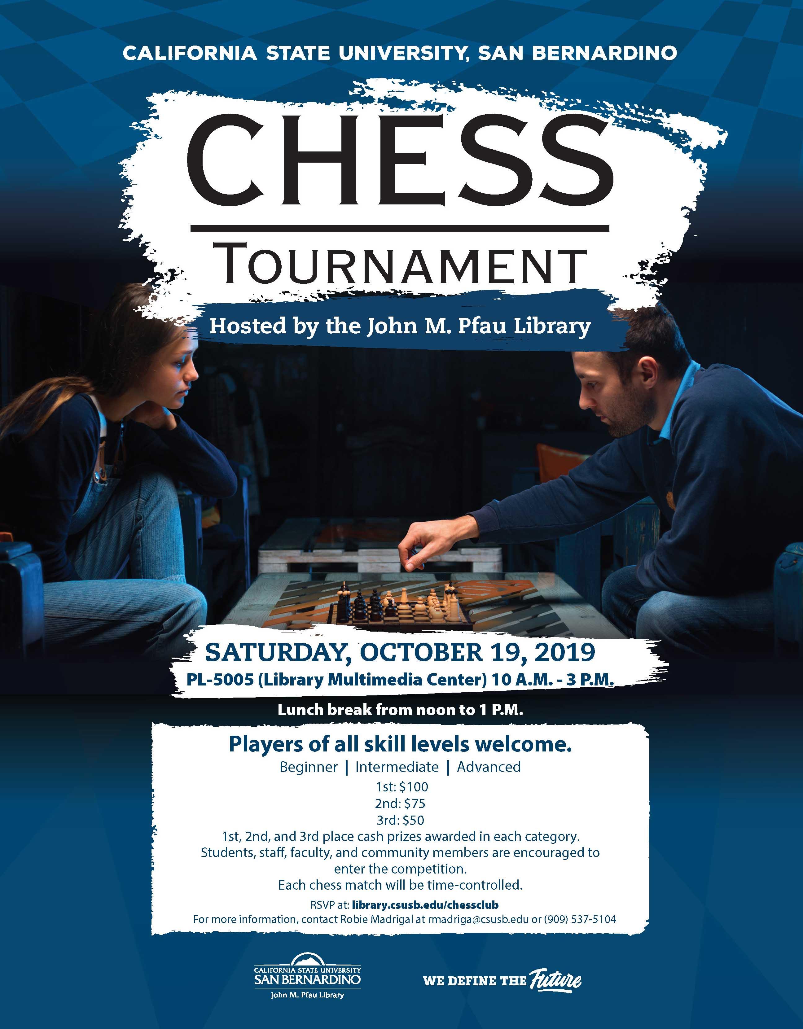 CSUSB Pfau Library hosts Chess Tournament