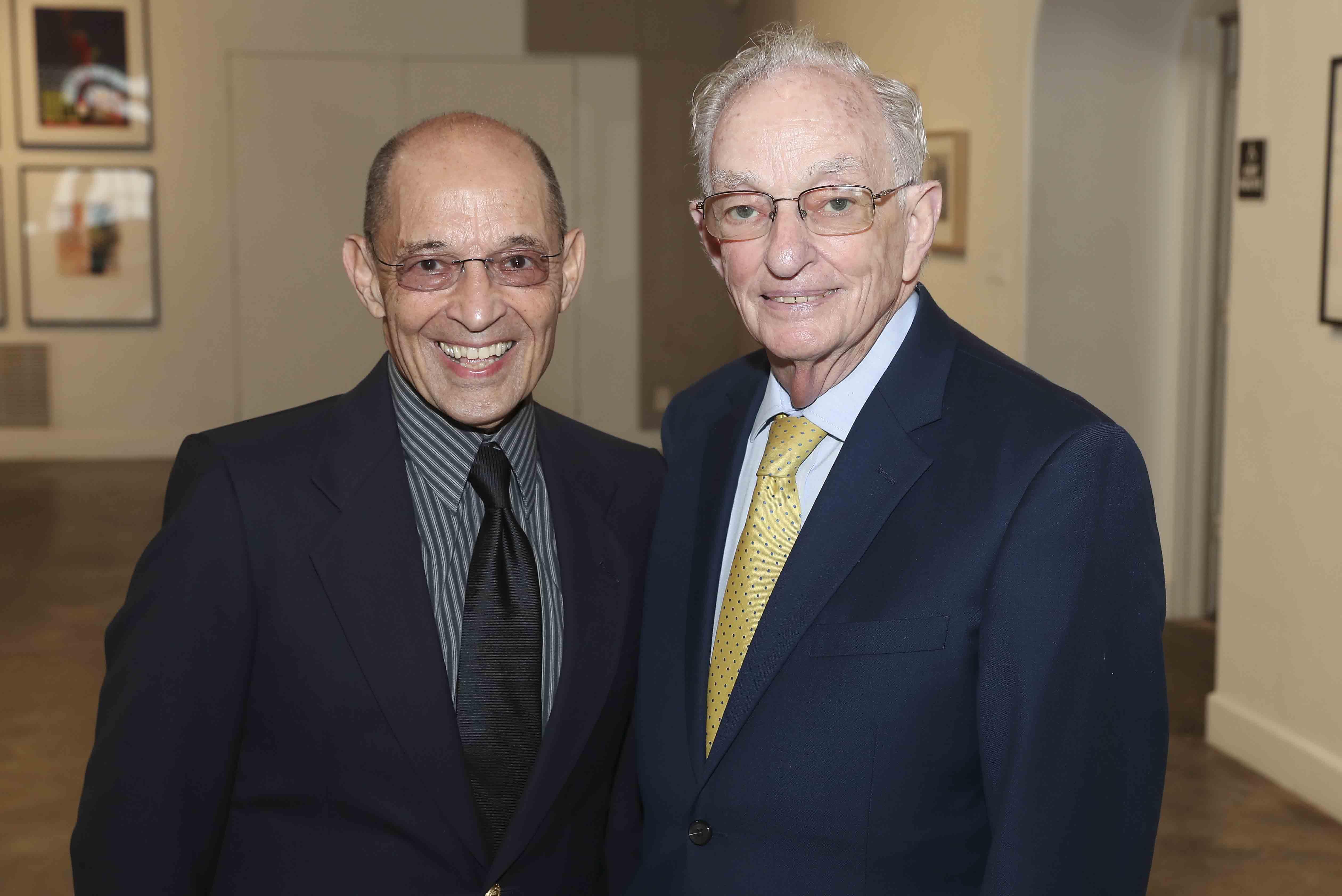 Gerald Sorin and Rabbi Hillel Cohn