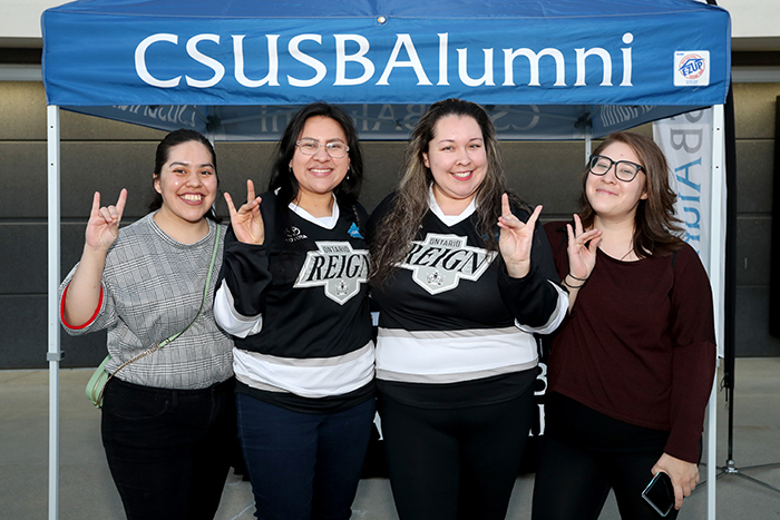 CSUSB Alumni Nite at Ontario Reign, Photo No. 1