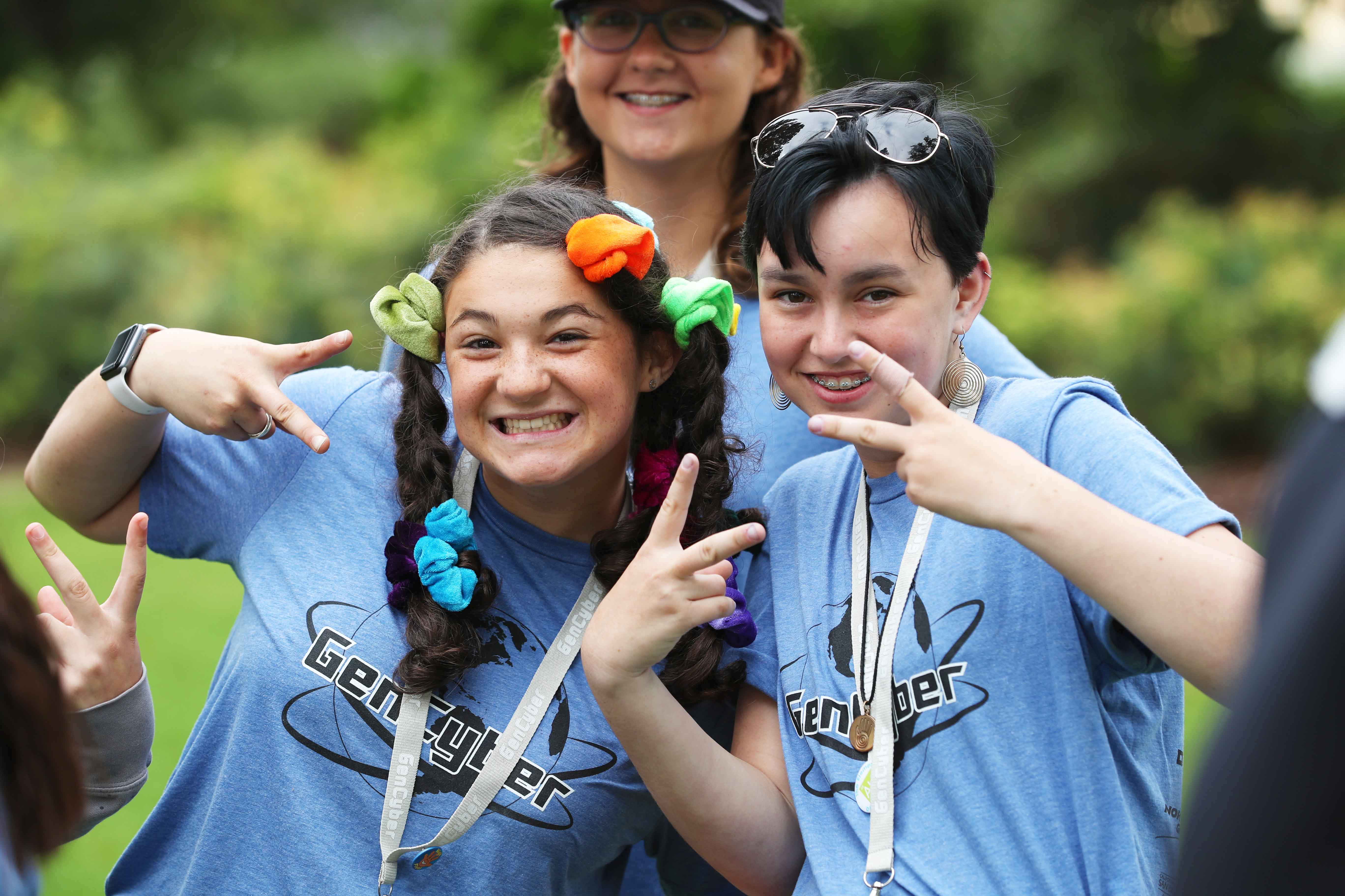 More than 200 middle school girls learn about cybersecurity at CSUSB GenCyber camp