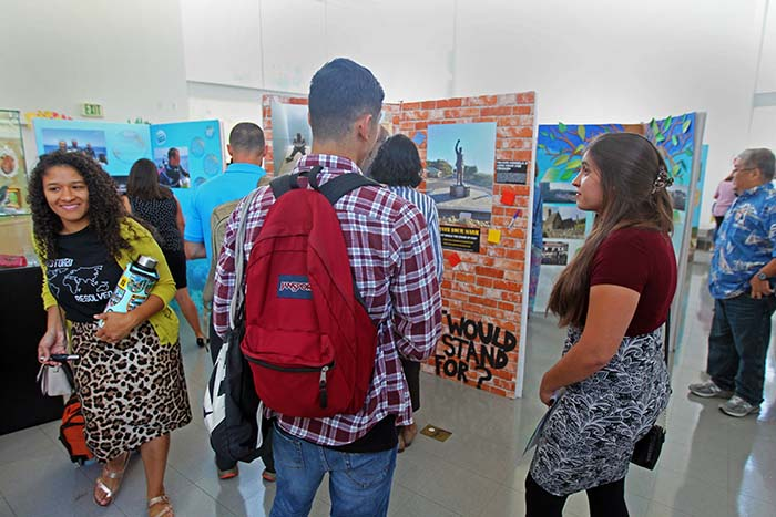 Lost and Found was juried, curated, developed, designed, fabricated and installed by CSUSB students.