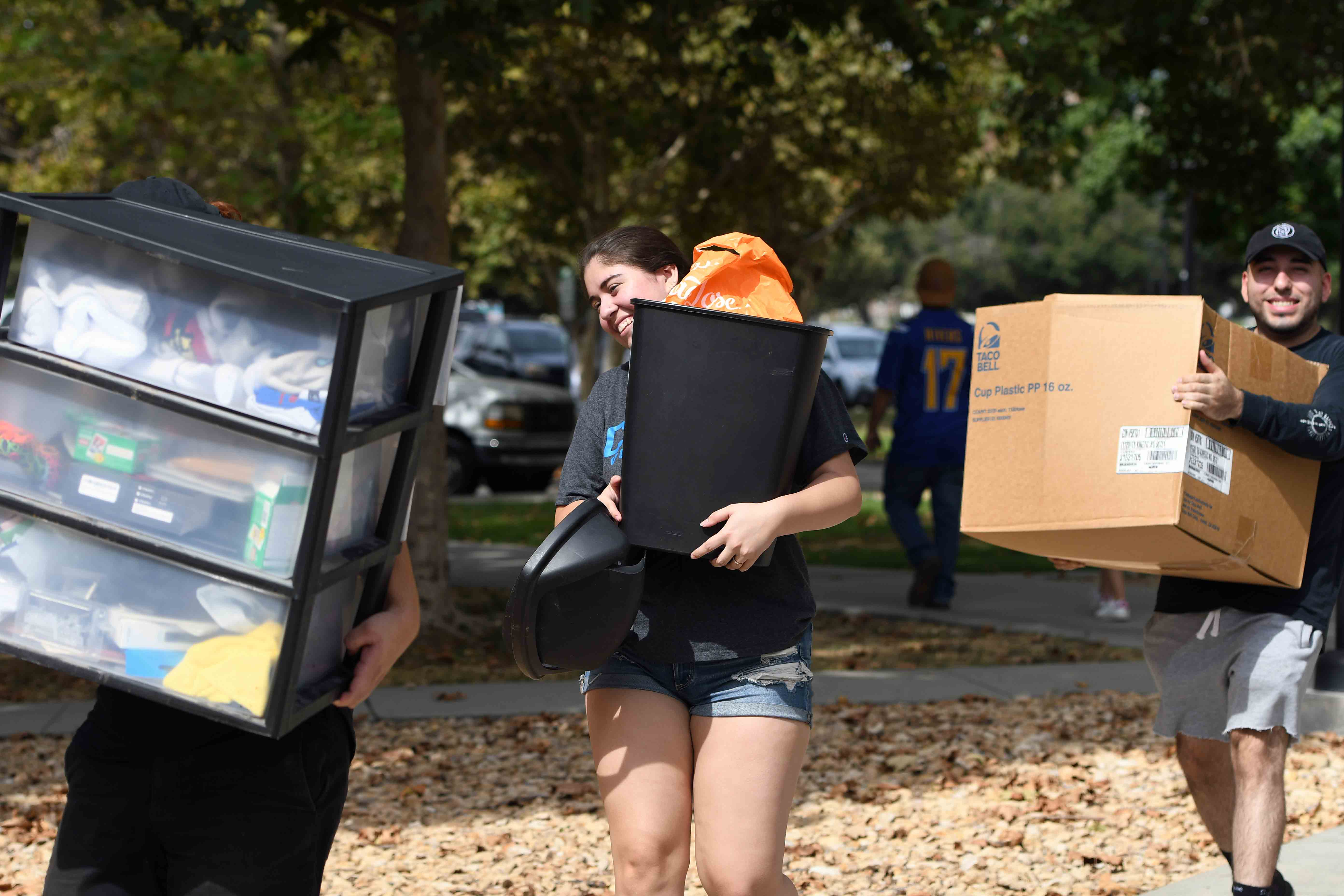 Move-In Day heralded the start of the 2019-20 academic year. Classes begin Sept. 19.