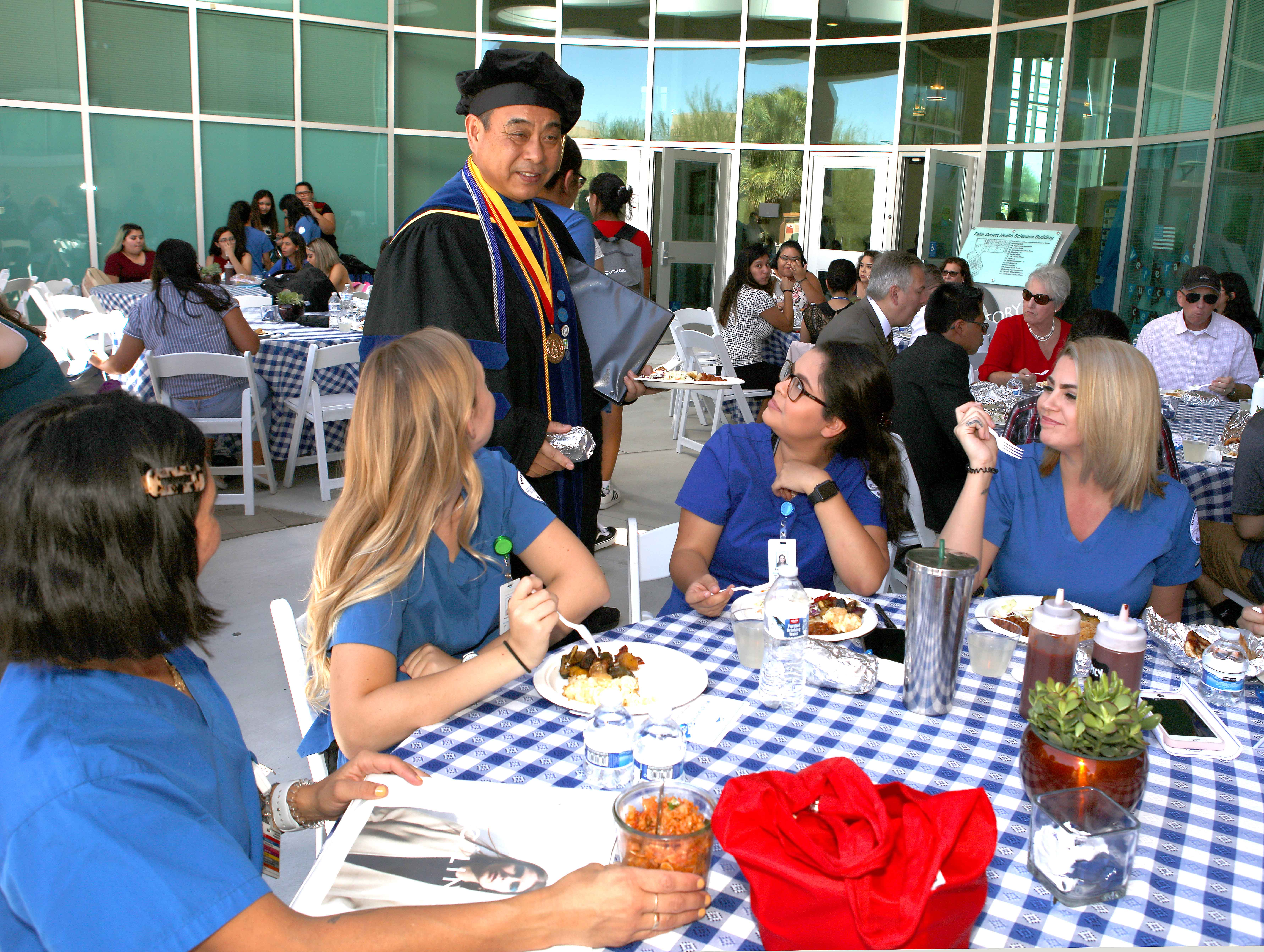 Jake Zhu begins his first full academic year as dean of the Palm Desert Campus.