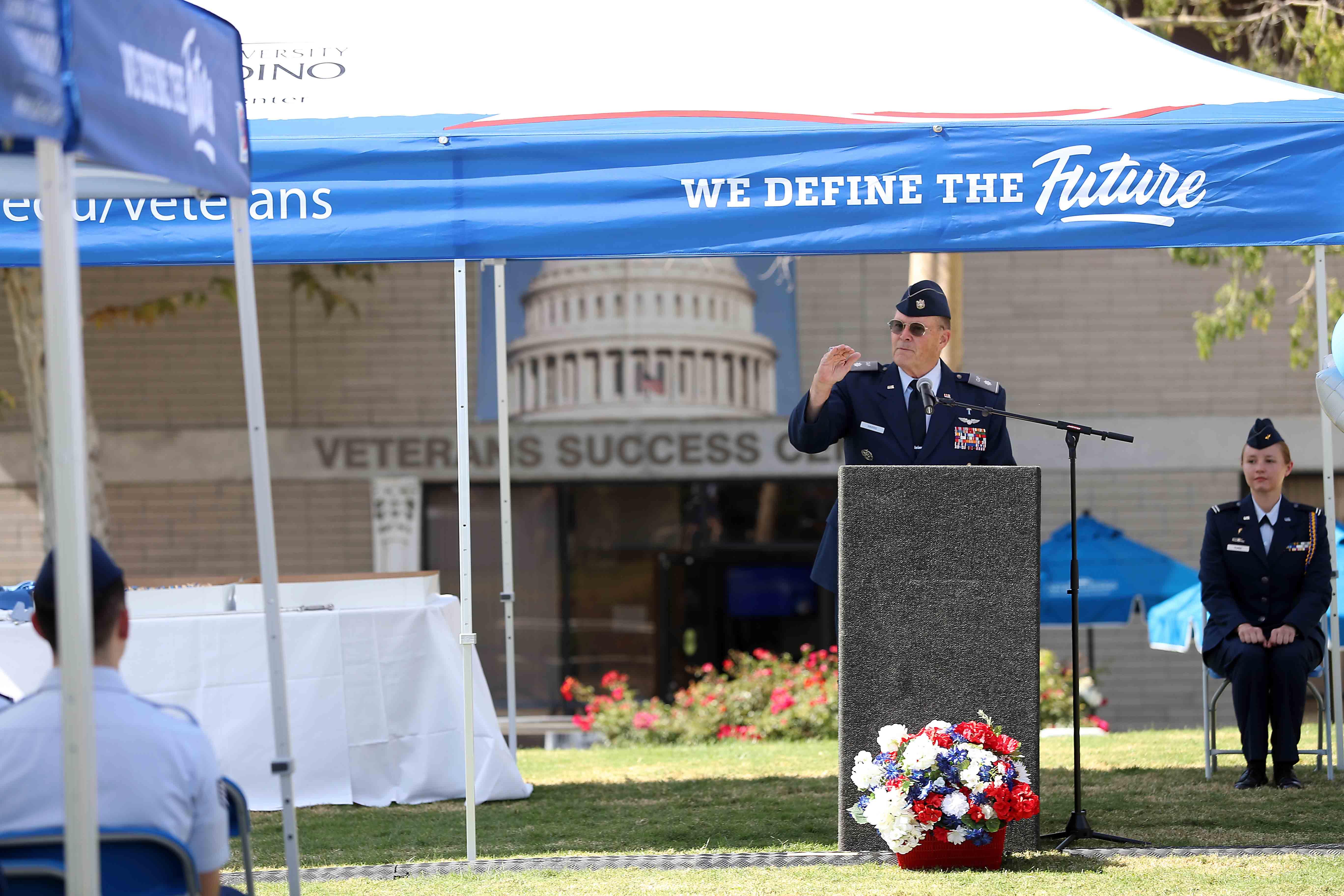VSC USAF birthday ... speaker