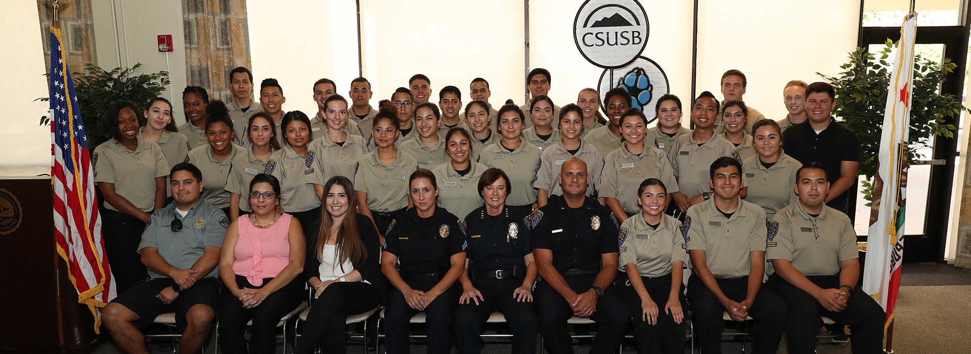 43 students graduate from CSUSB CSO Academy